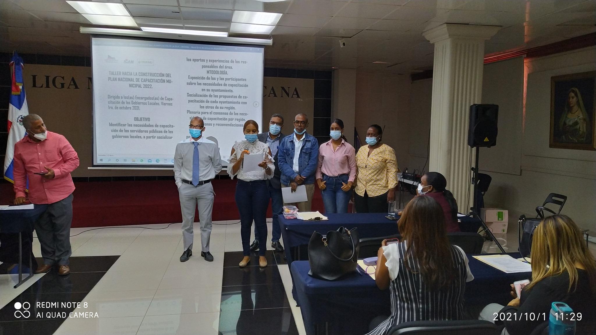 RRHH Alcaldía Seibo participa  «Taller Hacia La  Construcción Del Plan Nacional de Capacitación Municipal 2022.¨